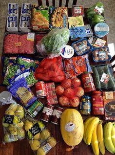 Primal/paleo family groceries & menu plan
