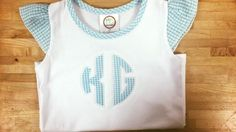 TGIF! Here's a cute BB too with our two letter monogram!