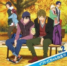 Haru is smiling! Look at all their precious faces! (Free!)