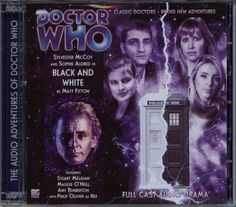 Dr Doctor Who Black and White Audio CD Mint Big Finish Sylvester McCoy Ace | eBay