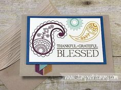 #paisleysandposies, #stampinup, #stampwithtammy