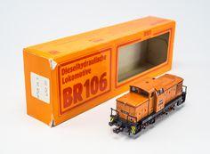 """Piko Modellbahn """"BR 106"""" Copyright: DDR Museum, Berlin. Eine kommerzielle Nutzung des Bildes ist nicht erlaubt, but feel free to repin it!"""