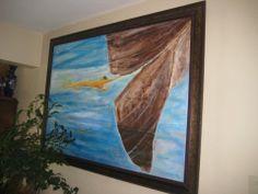 El Deseo de Jonás, Oleo sobre tela 2010