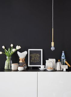 Apartment 34 | Calligraphy + Coffee 101