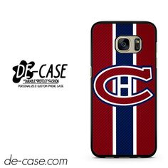 Montreal Canadiens Logo Carbon DEAL-7412 Samsung Phonecase Cover For Samsung Galaxy S7 / S7 Edge