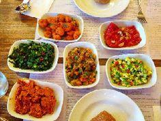 Homeveganer: Nur Vorspeisen gegessen ....