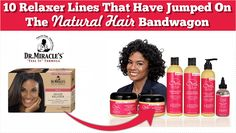 10 Relaxer Product Lines That Have Jumped On The Natural Hair Bandwagon  Read the article here - http://www.blackhairinformation.com/general-articles/tips/10-relaxer-product-lines-jumped-natural-hair-bandwagon/ #products #relaxerlines #naturallines