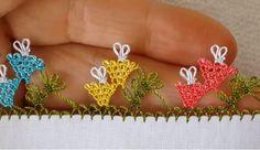 Daha Kolayı Yok 24 İğne Oyası Yazma Kenarı Modelleri - İğne Oyası - Yeni Hobi Filet Crochet, Knots, Elsa, Diy And Crafts, Crochet Earrings, Jewelry, Anne, Fashion, Craft