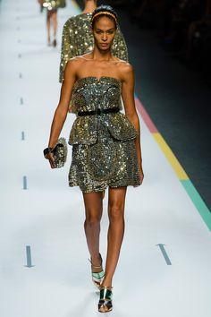 Milan Fashion Week: Fendi Spring - Summer 2013