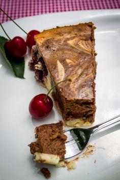 Amaretto Kirsch Käsekuchen mit Nutella