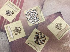 by Betsy: Renaissance tile class