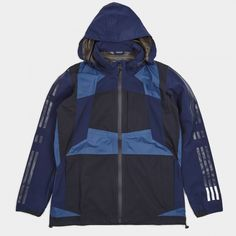 Adidas x White Mountaineering Shell Jacket - Night Navy (Image 1)