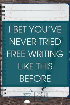 I want to re-introduce a concept that you probably already think you know how to do: free writing. But there is probably more to it than you think! The habit of free writing could transform your writing life. Learn how in this post. Fiction Writing, Writing Advice, Writing Resources, Writing Help, Writing Skills, Writing Prompts, Writing Ideas, Writing Quotes, Cool Writing