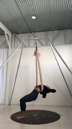 Online Aerial Yoga classes and trainings with the founder and creator of AIReal Yoga