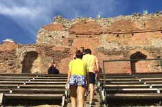 Taormina Walking Tour and Wine Tasting Including Skip-the-line Ticket to the Greek Theatre Visit Taormina's Teatro Greco, a well-preserved Ancient Greek amphitheater, and the Odeon, a small Roman theater. Also see the beautiful Palazzo Corvaja and Santa Caterina church. Explore Vicolo Stretto, the narrowest street in Taormina, and Corso Umberto, the fashionable and charming main street. Head to Piazza IX Aprile and stop for a wine tasting in a Sicilian wine bar where ...