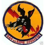 Image 1 USAF patch 364th BOMB SQUADRON (PROVISIONAL)