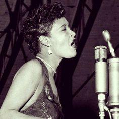 Billie Holiday, May 1948, at the Ebony Club, 1678 Broadway, New York