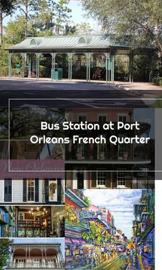 Bus Station at Port Orleans French Quarter Bus Station, French Quarter, Fire, Mansions, House Styles, Luxury Houses, Palaces, Mansion, Mansion Houses