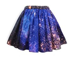 Starburst Cluster Galaxy Skirt