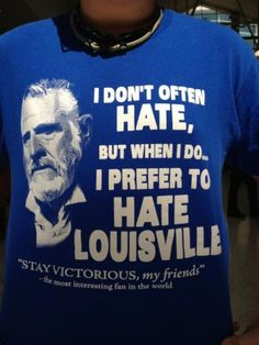 i prefer to hate louisville