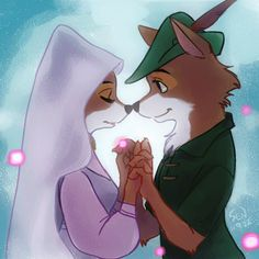Robin and Maid Marian--I want to find a man who looks at me the way Robin Hood looks at Maid Marian