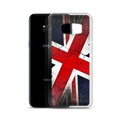 Punk Grunge British Flag Union Jack Samsung Phone Case