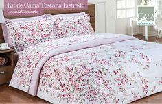 Kit de Cama Toscana Listrado Casa