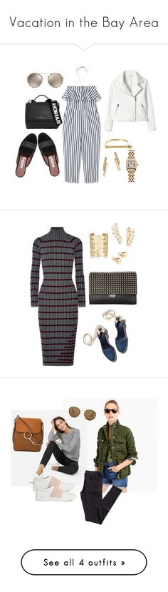 """""""Vacation in the Bay Area"""" by design360 ❤ liked on Polyvore featuring Tabitha Simmons, Rebecca Taylor, MANGO, Givenchy, Prada, MIANSAI, ZoÃ« Chicco, Cartier, Tory Burch and T By Alexander Wang"""