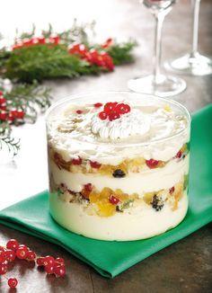 Creme gelado de panetone com chocolate branco para o Natal / DIY, Food, Candy