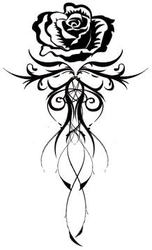 Great back tatoo. Get rid of the rose at the top, use lotus flower instead