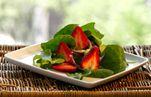 Strawberry Celebration- Summer menu with  luscious strawberries!