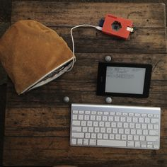 Kindleberry Pi hack - turn your KindleFire into a portable coding station using a Raspberry Pi, a wireless keyboard and a wireless router...