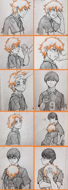 Kageyama X Hinata, Haikyuu Karasuno, Haikyuu Funny, Haikyuu Fanart, Haikyuu Anime, Haikyuu Ships, Manga Anime, Fanarts Anime, Haikyuu Wallpaper
