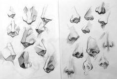 Tutorial para dibujar la nariz humana.