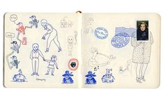 Luci Gutierrez's #sketchbooks are so much fun, I love how playful they are.