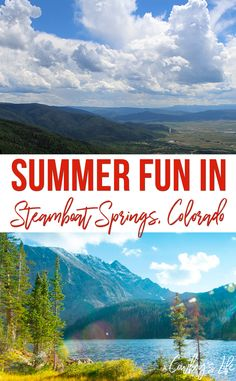 A guide to summer fun in Steamboat Springs, Colorado Places To Travel, Places To Go, Travel Destinations, Travel With Kids, Family Travel, Steamboat Springs Colorado, Summer Fun, Summer Things, Steamboats