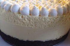 Louises Lækkerier: Citronfromage møder den lækre browniebund. Sweets Recipes, Cake Recipes, Diy Dessert, B Food, Danish Food, Fabulous Foods, Let Them Eat Cake, Cake Cookies, No Bake Cake
