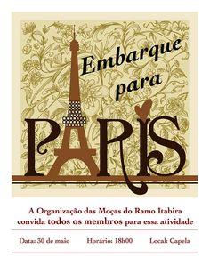 As Tontas Vão Ao Céu: Embarque em Paris - Ramo Itabira (Itabira-MG)
