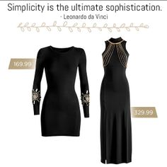 Simplicity is definitely the ultimate sophistication with these beautiful dresses from the LUVDR range! #dress #fashion #LBD #style
