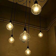 6 pcs luminaire suspension style europeen moderne ikea lampe pendante lampe plafonnier diy installation facile pour eclairage cuisine salle a manger