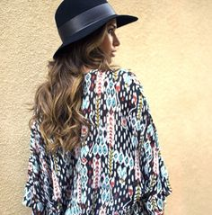 Aiko Kimono in Native Wind | By Lace & Whiskey www.lacewhiskey.com