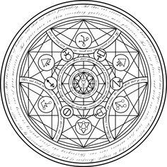 transmutation circle symbols - Bing Images