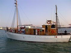Sea Quests - Stay aboard a classic wooden motor-yacht in the port of Durban, moored in a secure location on a fishing boat wharf near the Bluff Yacht Club; Angra Pequena is something different for adventurous travellers.  Angra ... #weekendgetaways #durban #southafrica