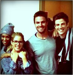 Double date time #Flarrow style! <3