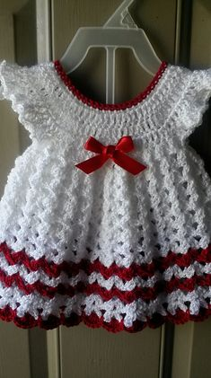Ravelry: Project Gallery for Angel Wings Pinafore pattern by Maxine Gonser