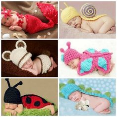 knitted baby outfit for newborns photography