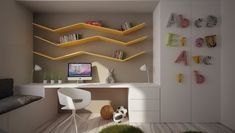 12 Kid's Bedrooms with Cool Built-Ins