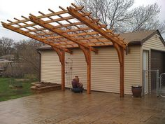 """Cantilever"" Pergola 