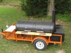 Custom BBQ Pit