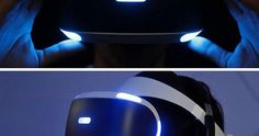 The Sony PlayStation VR headset by Mashable
